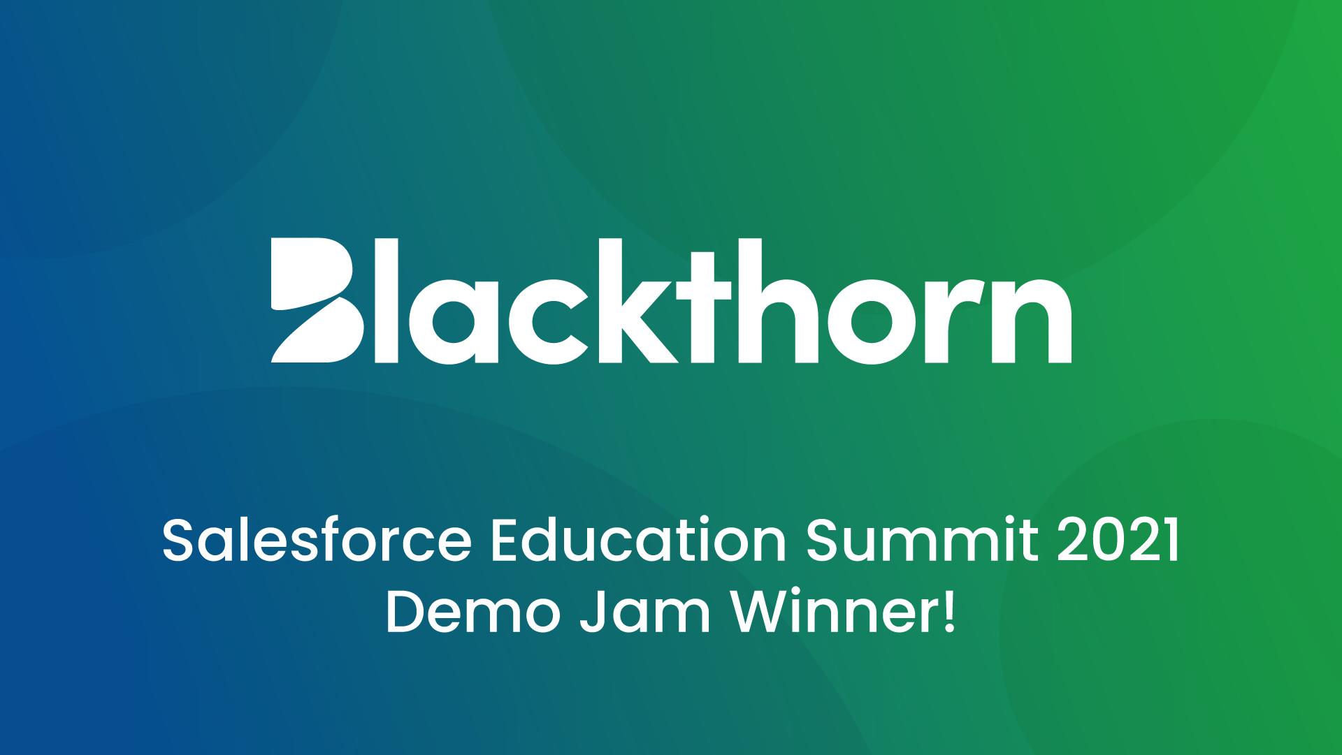 Salesforce Education Summit 2021 Demo Jam