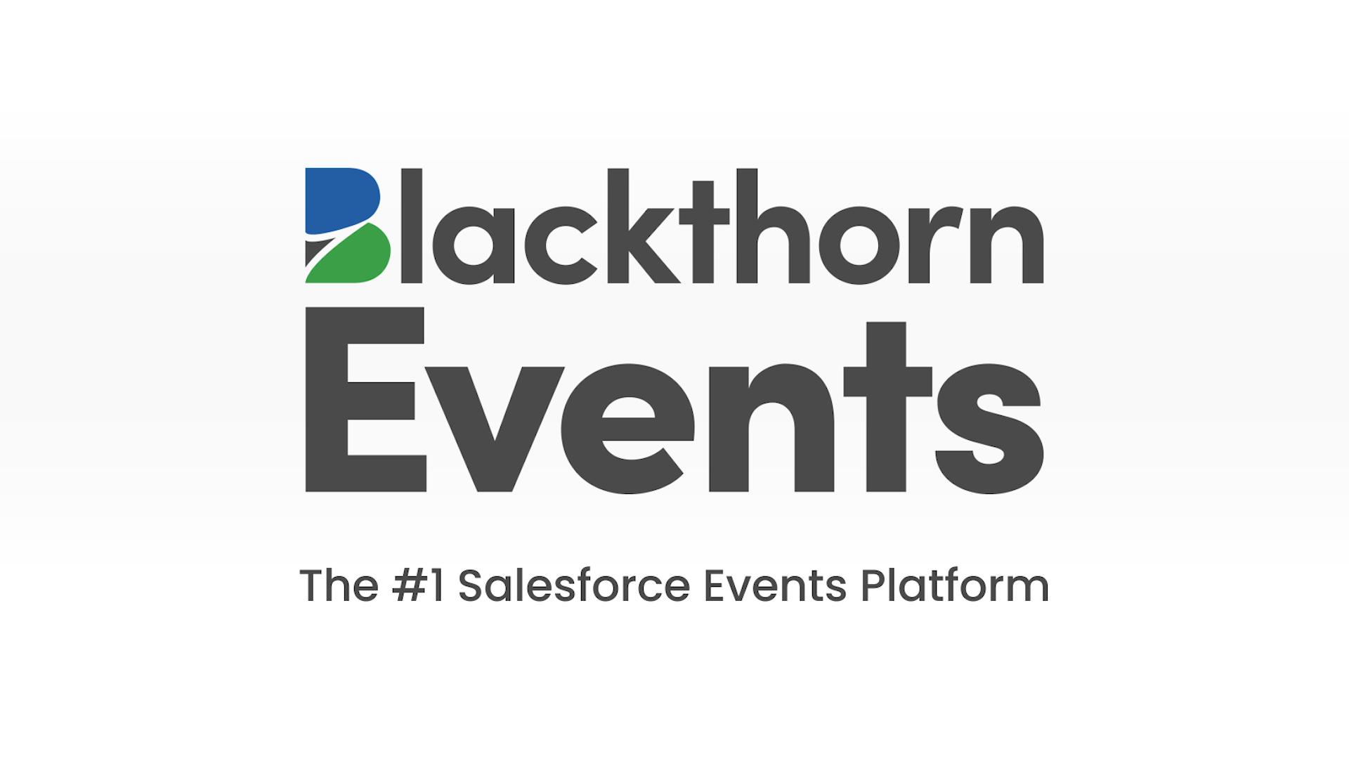 The #1 Salesforce Events Platform