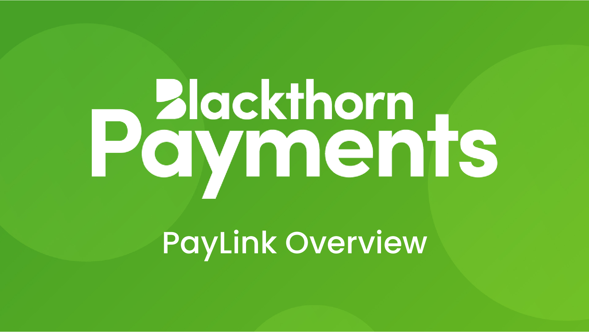 Easily take payments with PayLink
