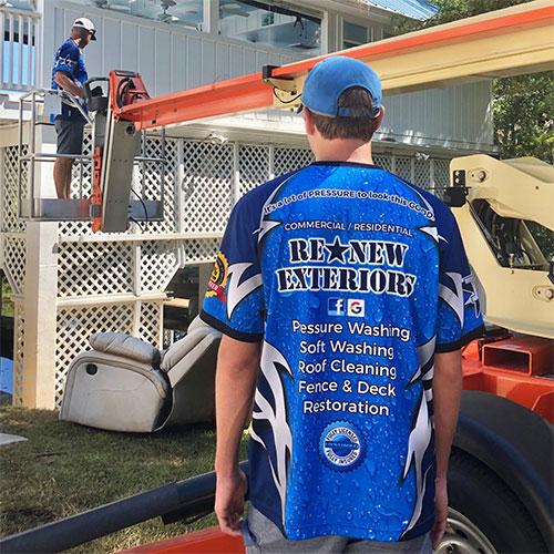 chris staples ocean springs pressure washing expert