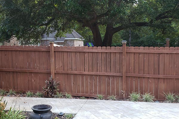 fence restoration project