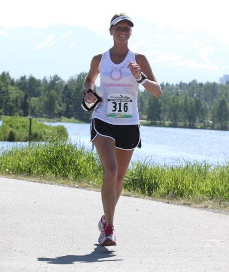 A long-time athlete, Julie Braatz runs between three and five miles six times a week. | Credit: Julie Braatz