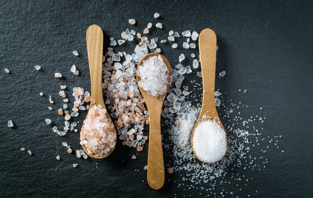 Different types of salt | Credit: Freshly