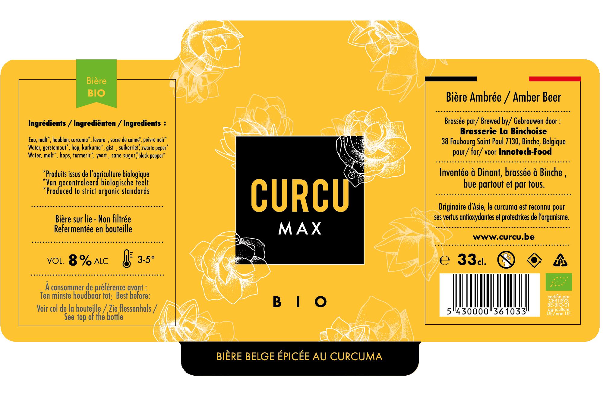 Curcu Max etiquette