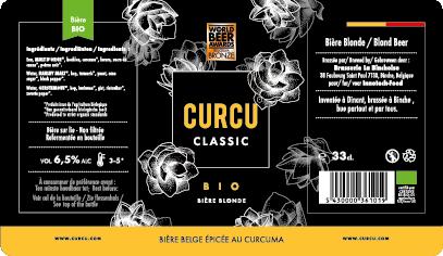 Curcu Beer etiquette
