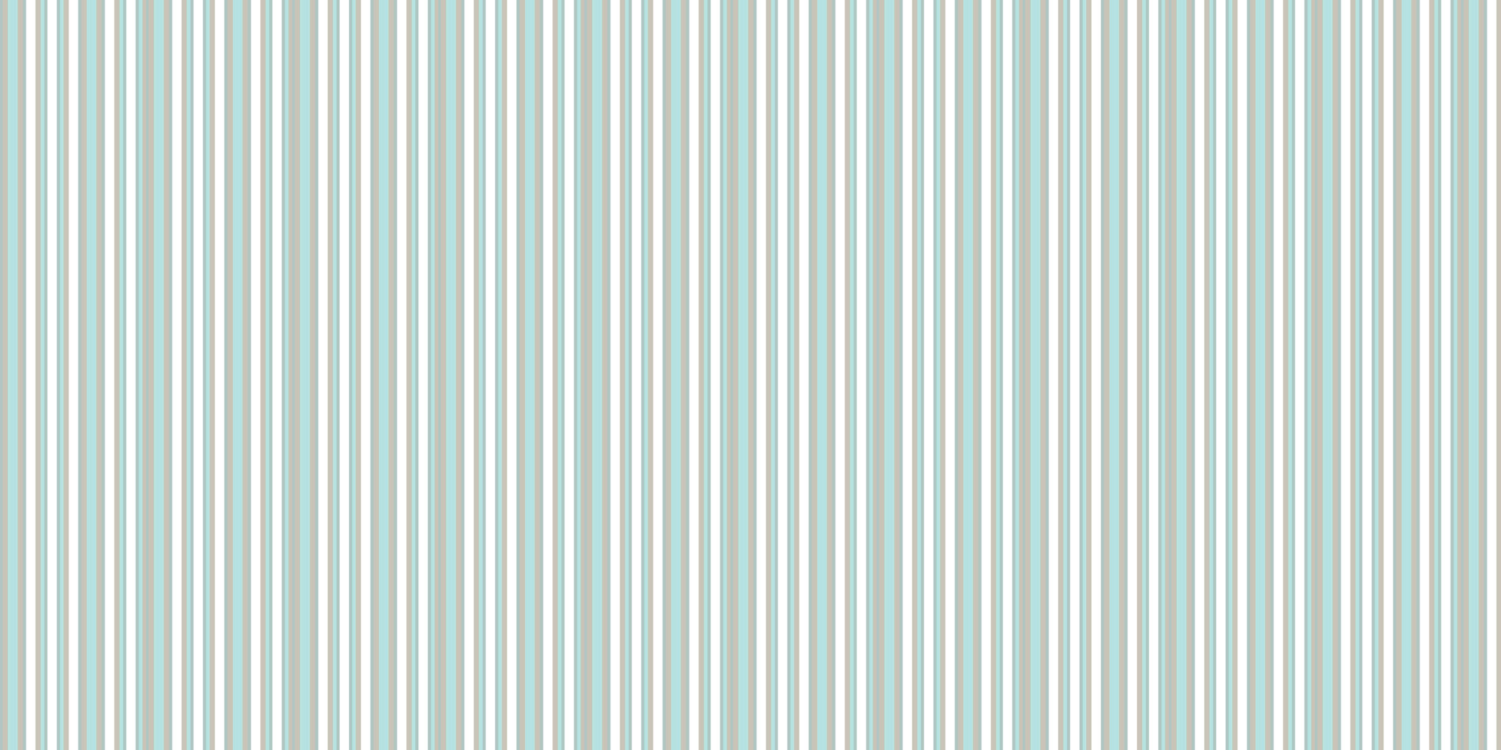 Acoustic felt printed with soft stripes