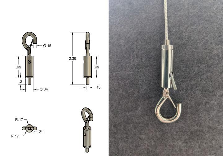 Wire Gripper Hook