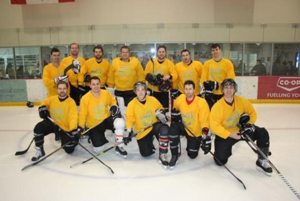 Photo of Capital Commercial Hockey Team