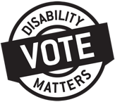 Logo of Disability Vote Matters