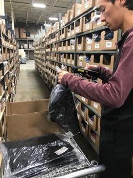 Photo of Mathew working at Parian Logistics.