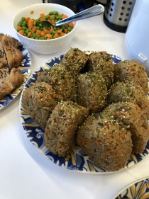 Photo of rice balls made by the Grow Participants.