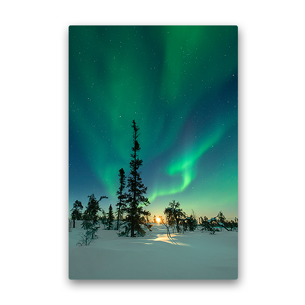 Northern light photo.