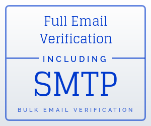 bulk full email verification