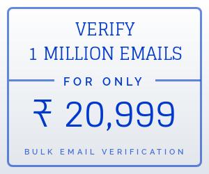 bulk email verification India