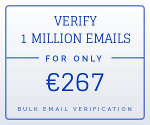 bulk email verification Europe