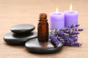 aromatherapy at yoga retreat