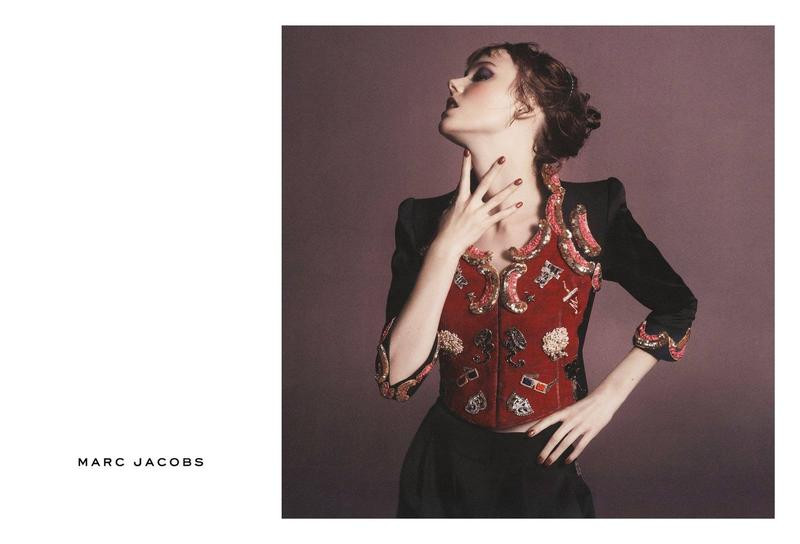 Kiki Willems Marc Jacobs campagne