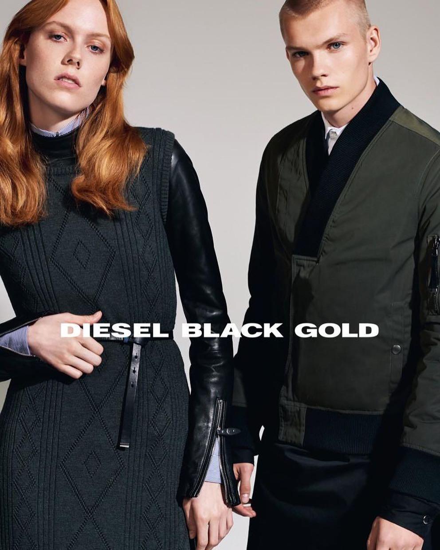 Kiki Willems Diesel Black Gold Campaign