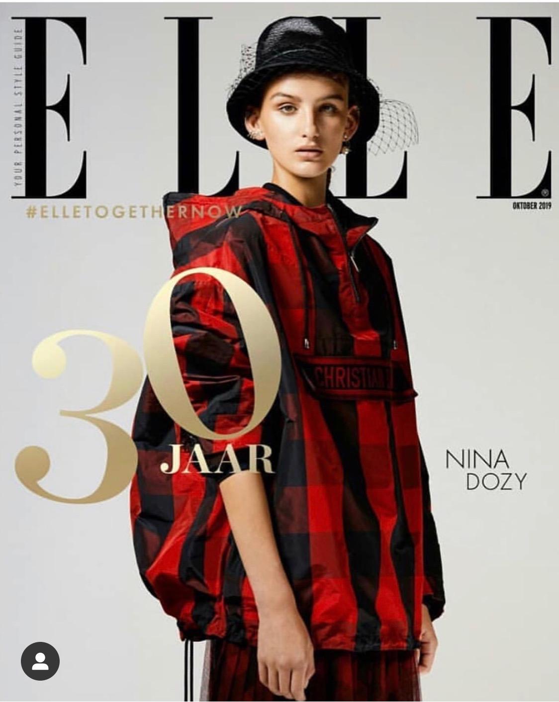 Nina Dozy Elle Magazine
