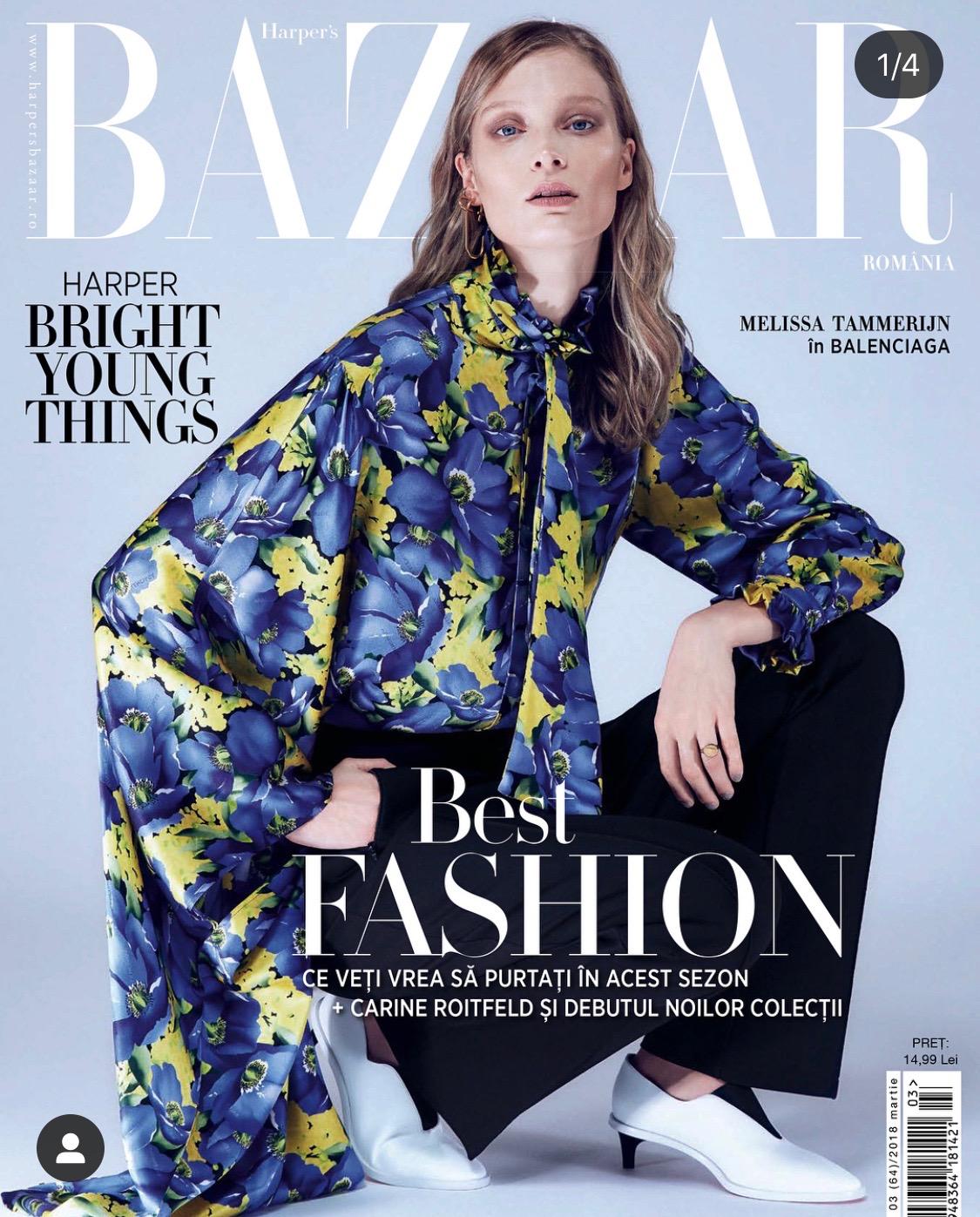 Melissa Tammerijn Harpers Bazar