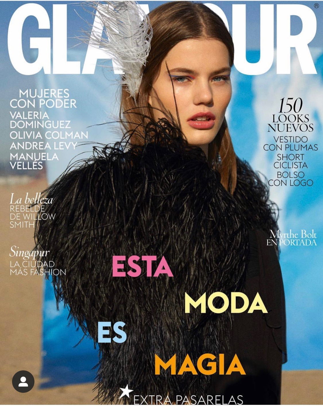 Myrthe Bolt for Glamour
