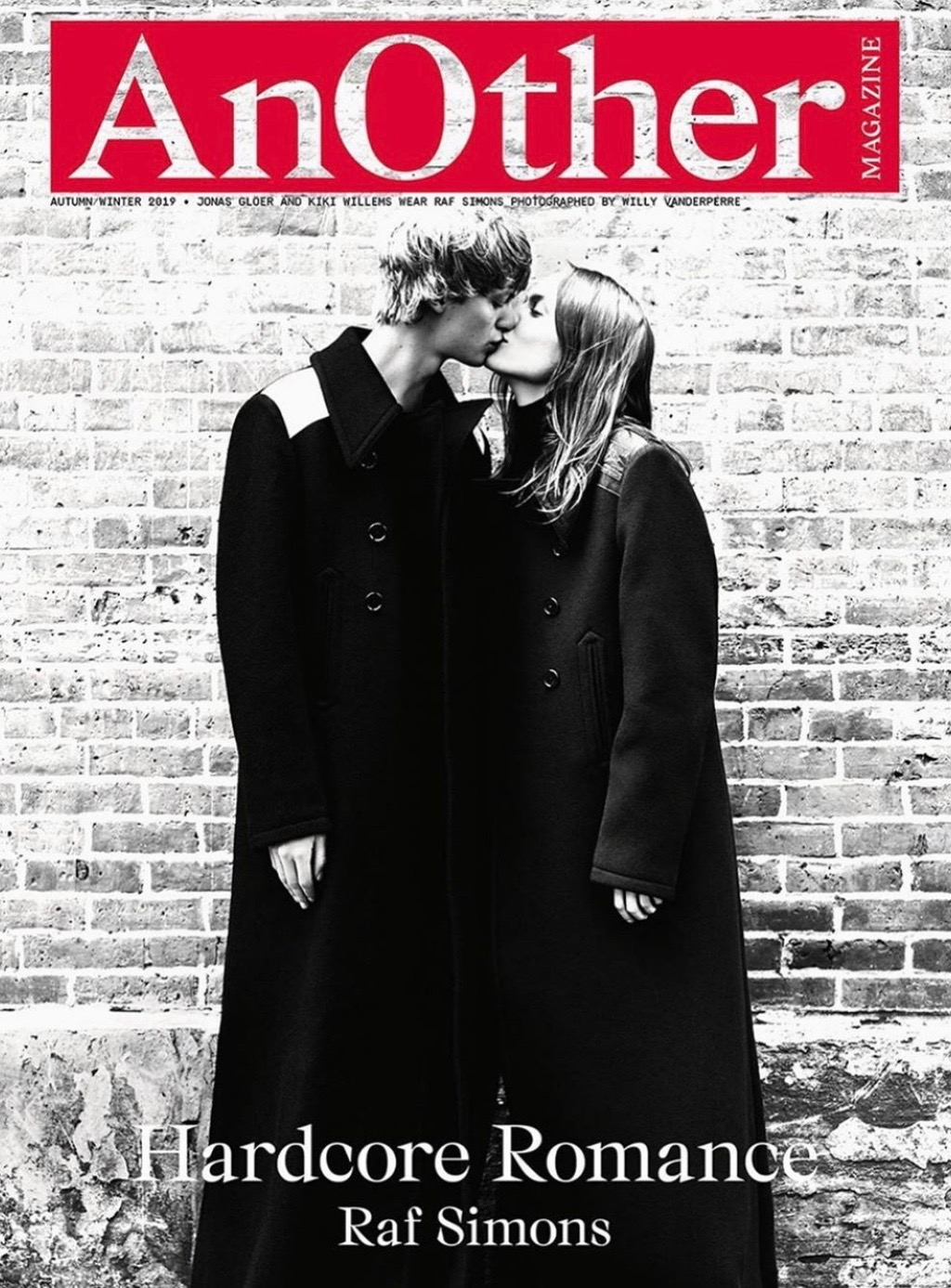 Kiki Willems and Jonas for Another Magazine