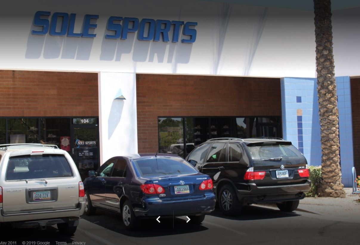 Sole Sports Packet Pick Up for 2020 Rescue Run