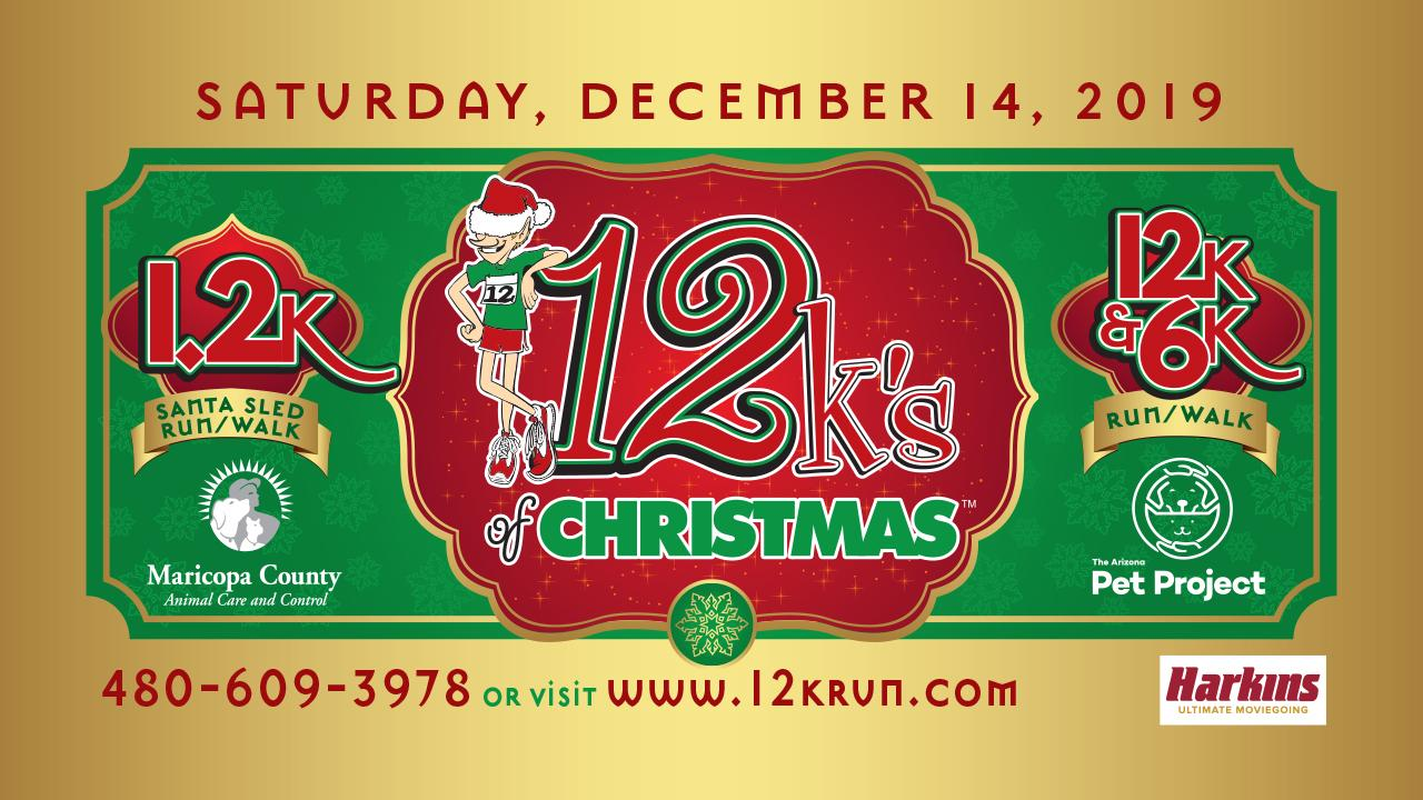 12K's of Christmas Run and Santa's Pet Village for Rescues - Boxer Luv will have a booth!