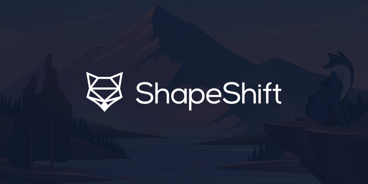 bitcoin shapeshift