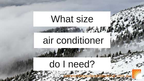 Air Conditioner Size Guide