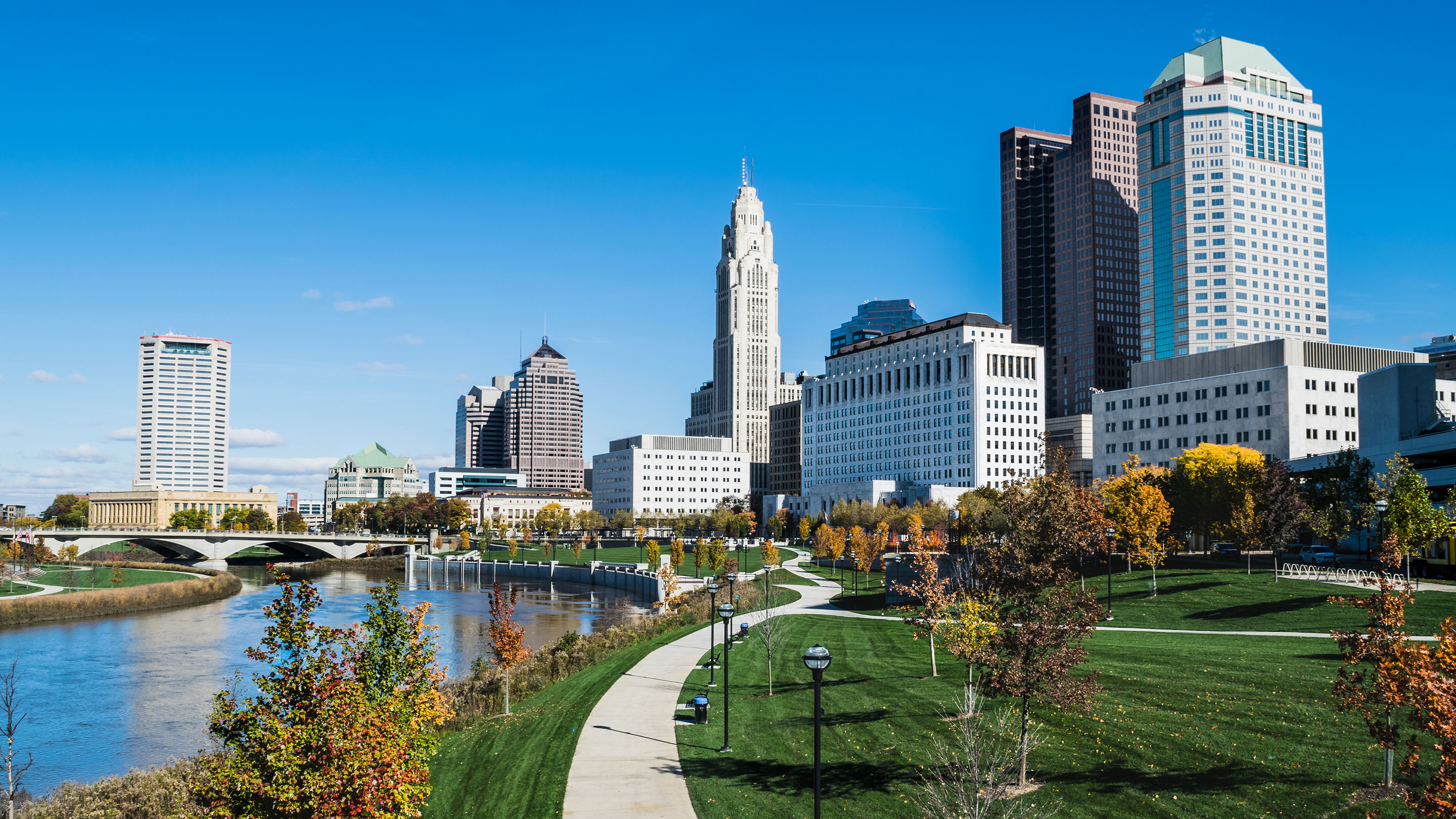 Image of downtown Columbus, Ohio