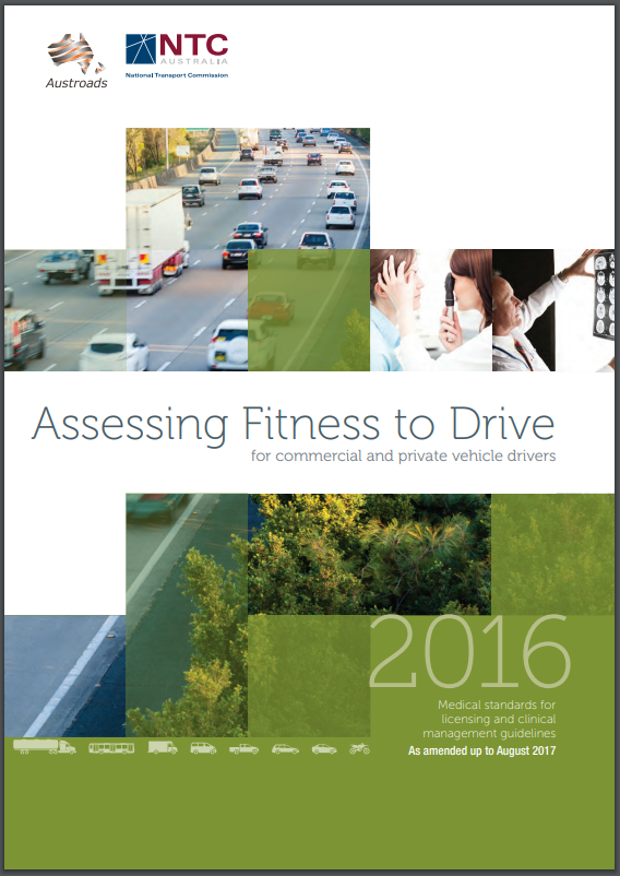 Austroads Assessing Fitness to Drive Guidelines