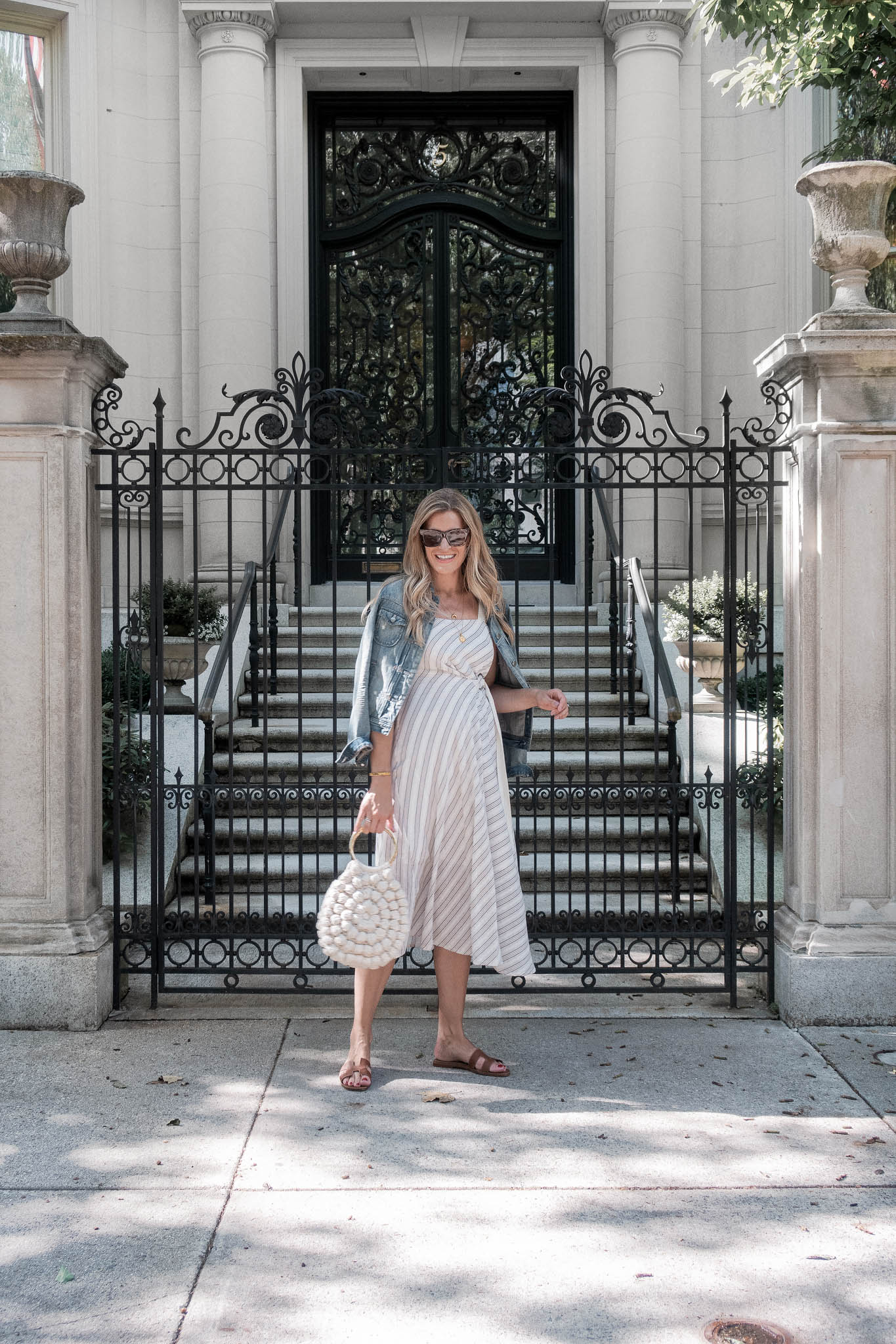 Laura Behnke Boston Back Bay What I Wore