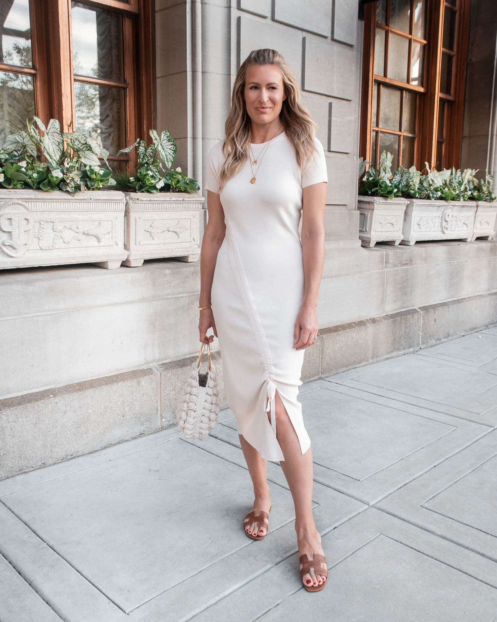 Laura Behnke Boston Back Bay What I Wore Caara Dress