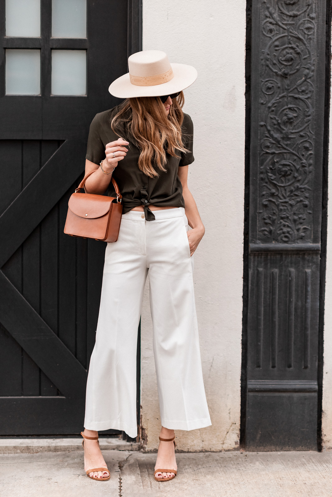 Laura Behnke The Life Actually Company Ann Taylor Pants Lack of Color Hat