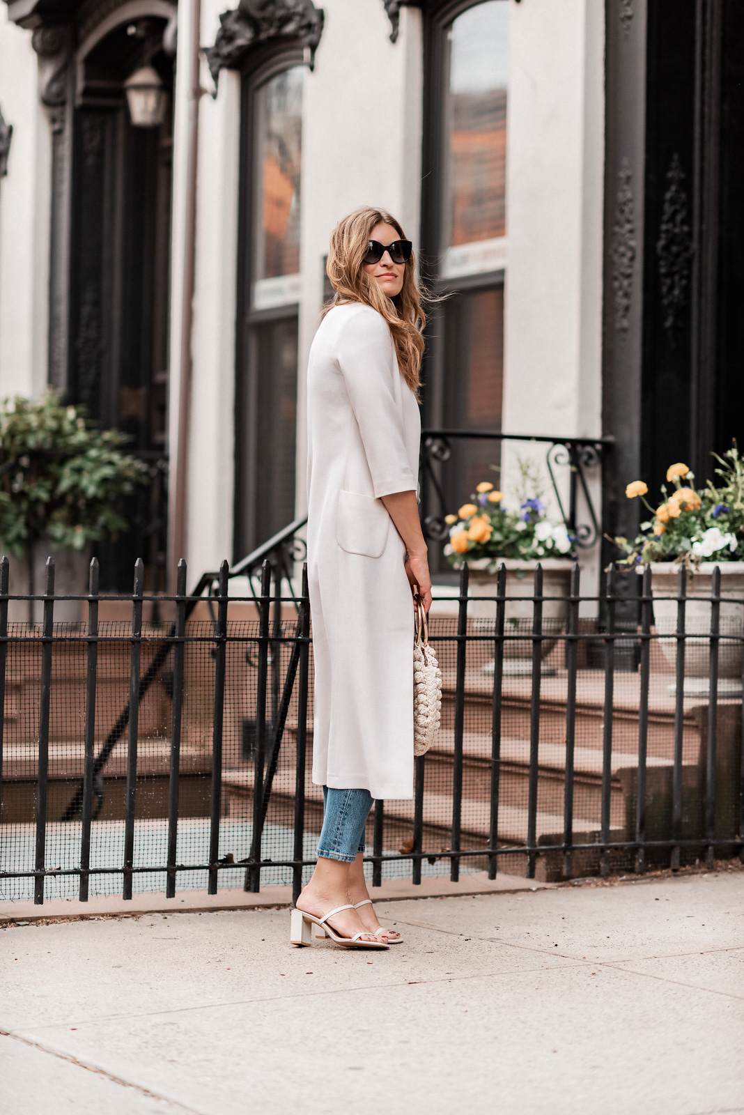 Laura Behnke The Life Actually Company Duster Coat Levis