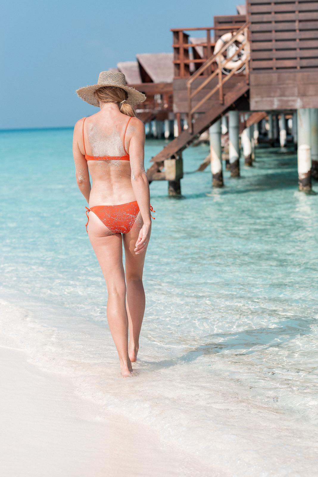 Laura Behnke the Maldives My Beach Looks Swimsuits