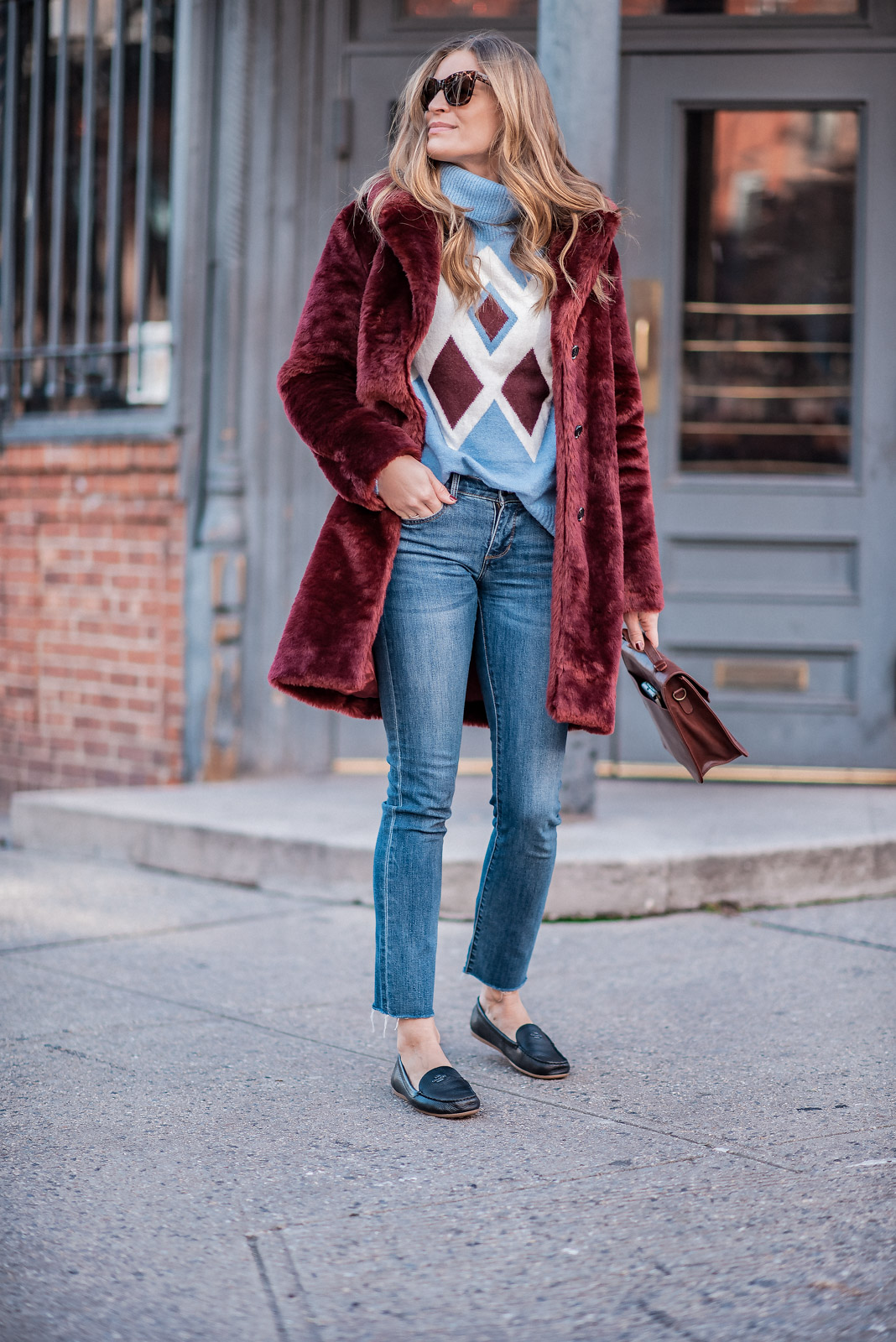 Laura Behnke The Life Actually CompanyCasual Faux Fur
