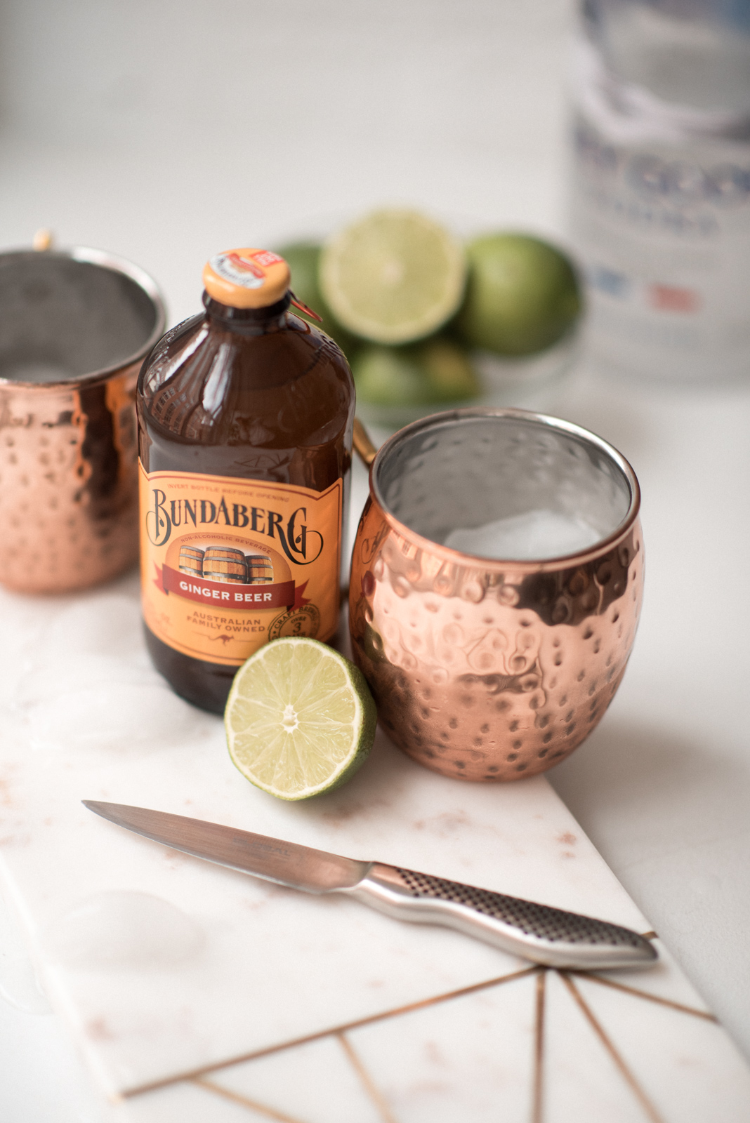 Laura Behnke The Life Actually Company Moscow Mule Recipe