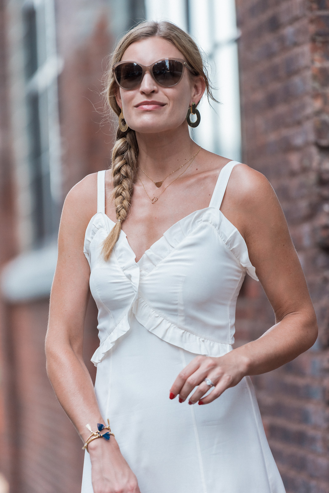 Laura Behnke The Life Actually Company the LWD & Other Stories White Dress