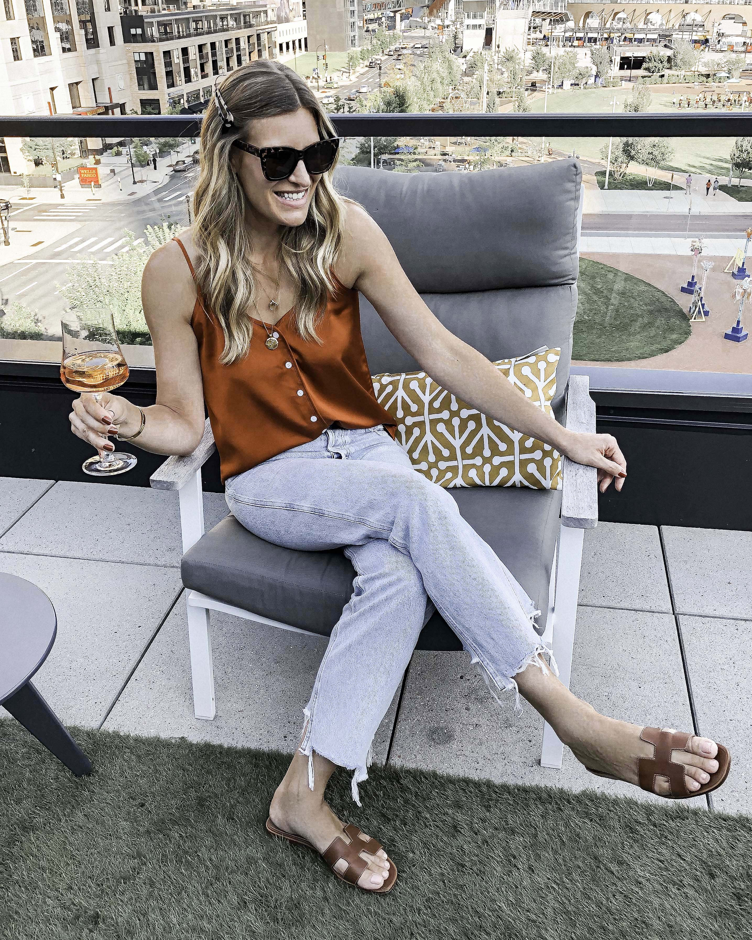 Laura Behnke The Life Actually Company What I Really Wore J Crew Cami Abercrombie Jeans