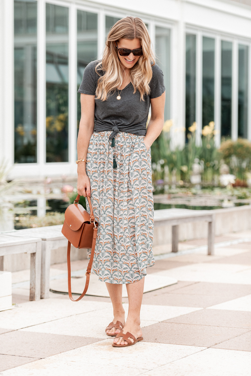 Laura Behnke The Life Actually Company What I Really Wore Minnesota FatFace Skirt