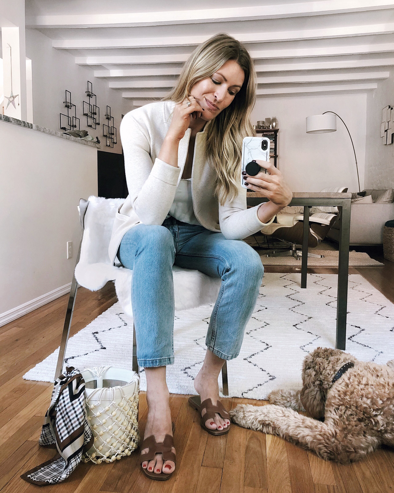 Laura Behnke The Life Actually Company What I Really Wore J Crew Sweater Jacket
