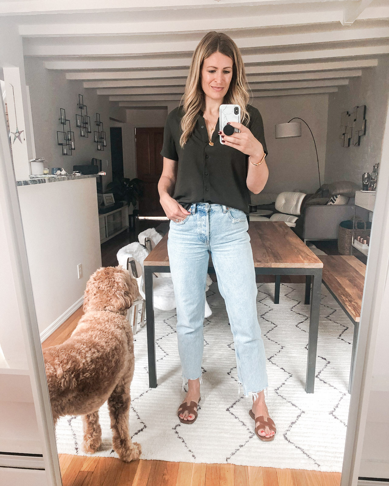 Laura Behnke The Life Actually Company What I Really Wore Abercrombie jeans