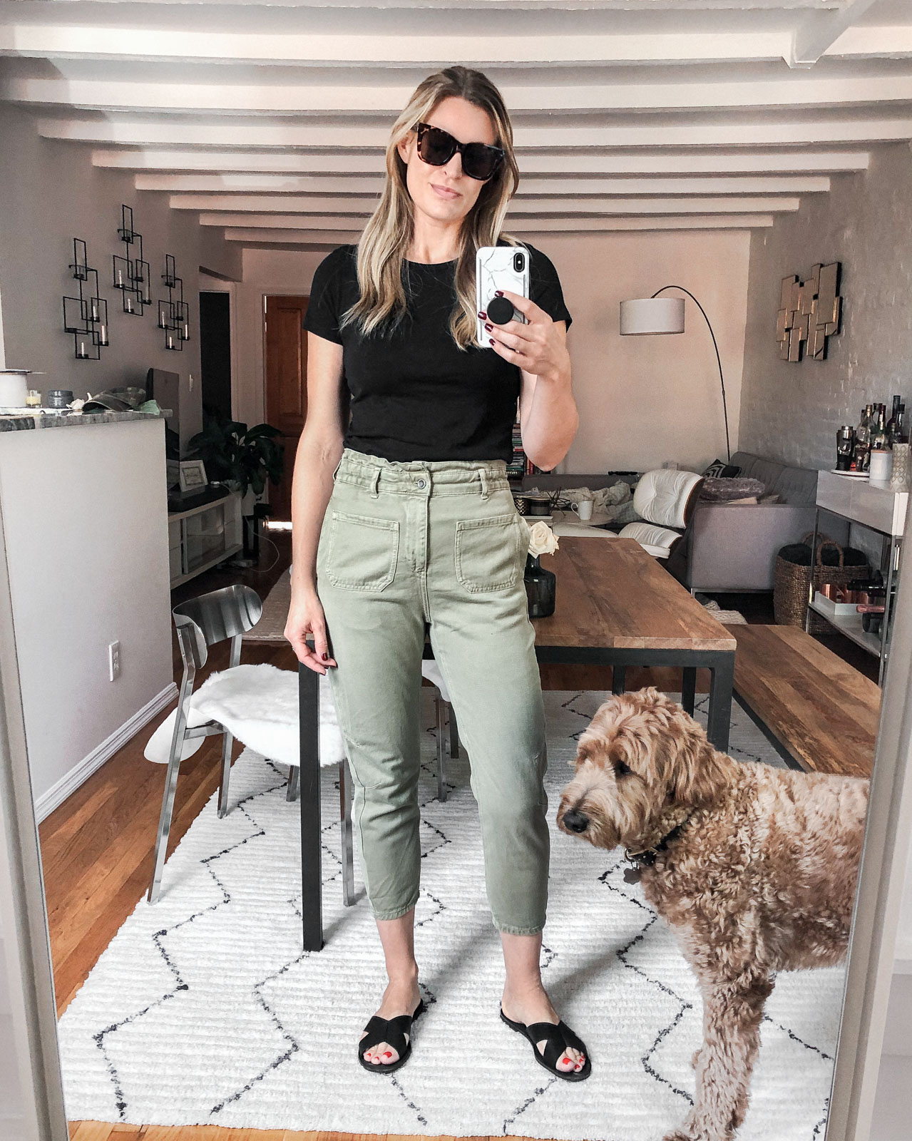 Laura Behnke The Life Actually Company What I Really Wore Zara Pants
