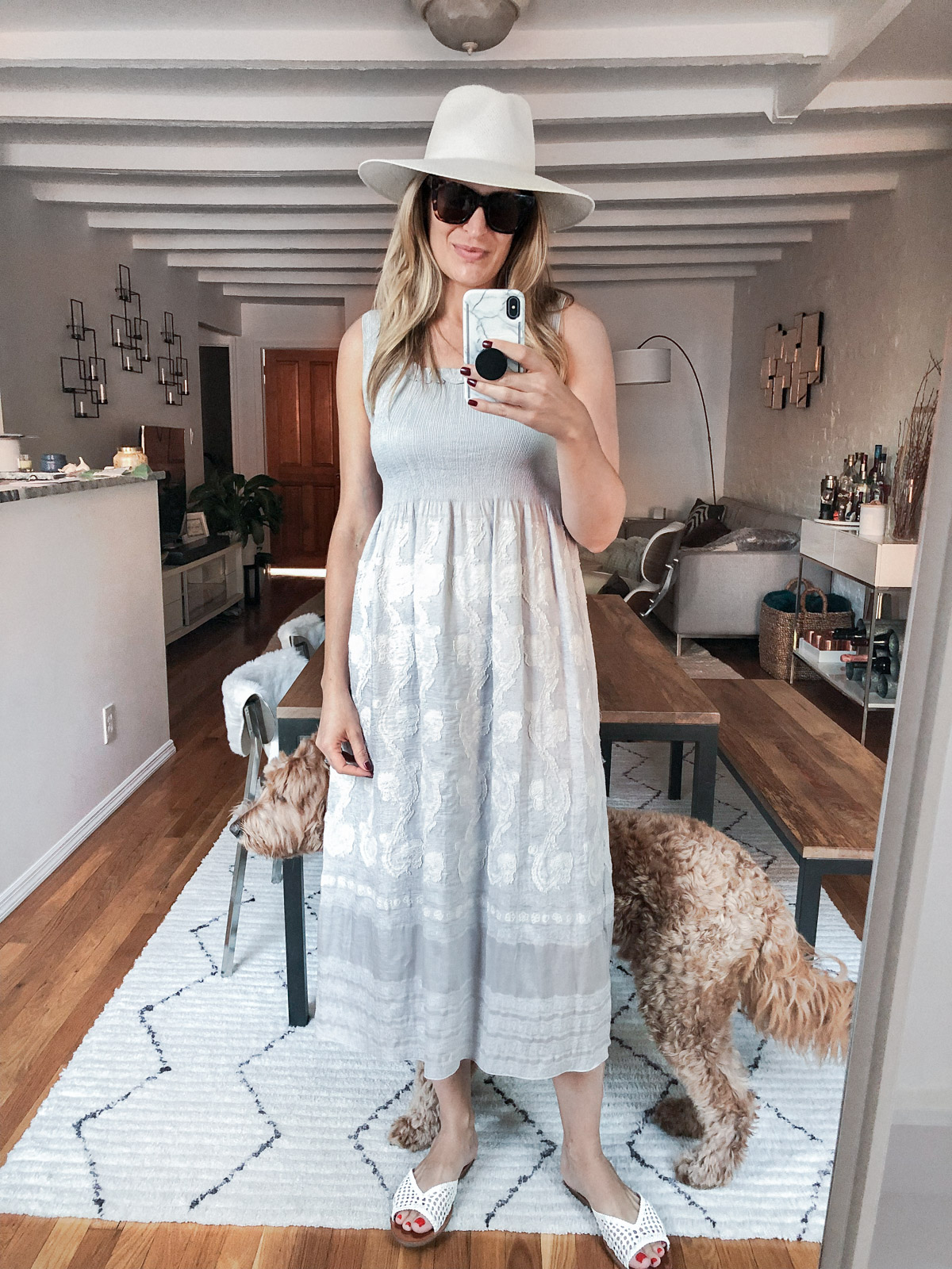 Laura Behnke The Life Actually Company What I Really Wore Sundress