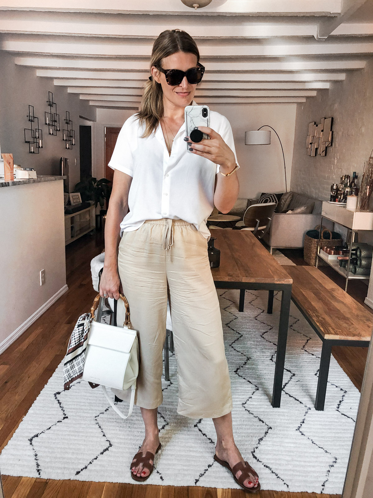 Laura Behnke The Life Actually Company What I Really Wore September And Other Stories Pants