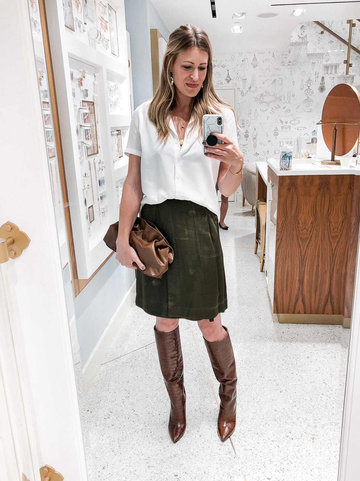 Laura Behnke The Life Actually Company What I Really Wore September Paris Texas Boots