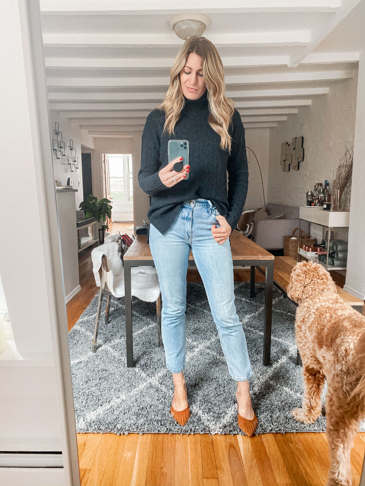 Laura Behnke The Life Actually Company What I Really Wore Frame Le Sylvie jeans