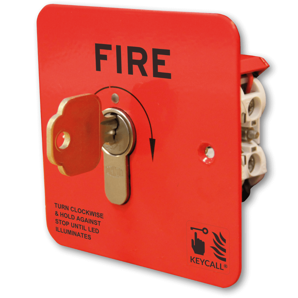 Keycall Fire Key operated call point